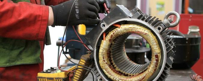موتور الکتریکی - مشخصات برقی
